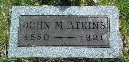 ATKINS, JOHN MARBLE - Madison County, Iowa | JOHN MARBLE ATKINS