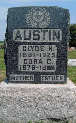 AUSTIN, CORA C. - Madison County, Iowa | CORA C. AUSTIN