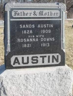 DOWNS AUSTIN, ROSANNA - Madison County, Iowa | ROSANNA DOWNS AUSTIN