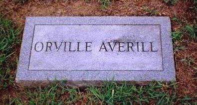 AVERILL, ORVILLE - Madison County, Iowa   ORVILLE AVERILL