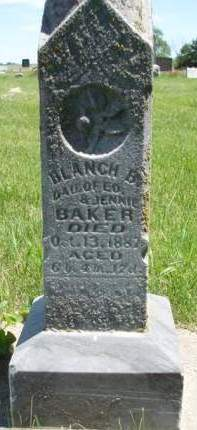 BAKER, BLANCHE B. - Madison County, Iowa | BLANCHE B. BAKER