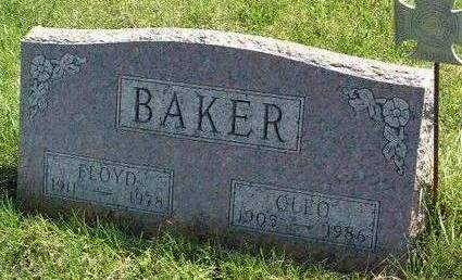 BAKER, CLEO BELL - Madison County, Iowa | CLEO BELL BAKER
