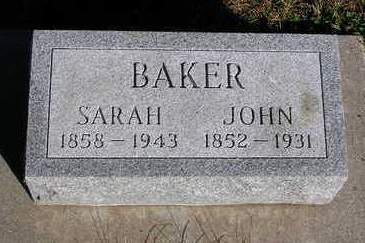 BAKER, JOHN - Madison County, Iowa | JOHN BAKER