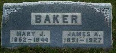 ATHERTON BAKER, MARY J. - Madison County, Iowa | MARY J. ATHERTON BAKER