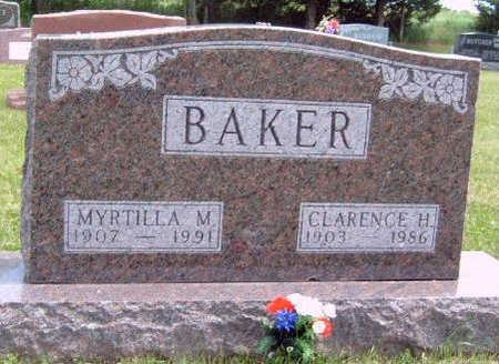 BAKER, MYRTILLA MAE - Madison County, Iowa | MYRTILLA MAE BAKER