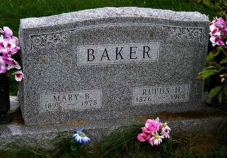 BAKER, RUTHERFORD HAYES (RUFUS) - Madison County, Iowa | RUTHERFORD HAYES (RUFUS) BAKER