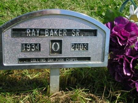 BAKER, RAY AUGUST, SR. - Madison County, Iowa | RAY AUGUST, SR. BAKER