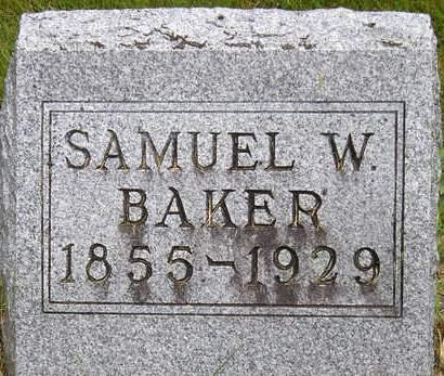 BAKER, SAMUEL WESLEY - Madison County, Iowa | SAMUEL WESLEY BAKER