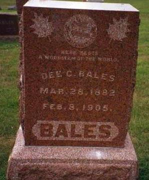 BALES, DEE CLARK - Madison County, Iowa | DEE CLARK BALES
