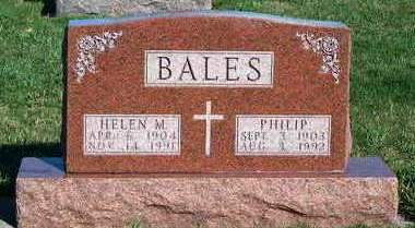BALES, HELEN MARY - Madison County, Iowa | HELEN MARY BALES