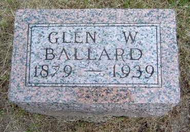 BALLARD, GLEN WOOD - Madison County, Iowa | GLEN WOOD BALLARD