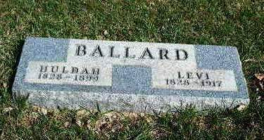 BALLARD, LEVI - Madison County, Iowa | LEVI BALLARD