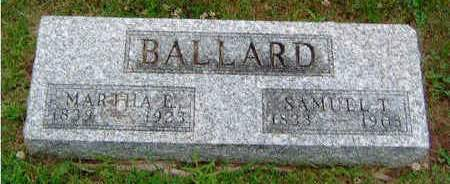 BALLARD, MARTHA E. - Madison County, Iowa | MARTHA E. BALLARD