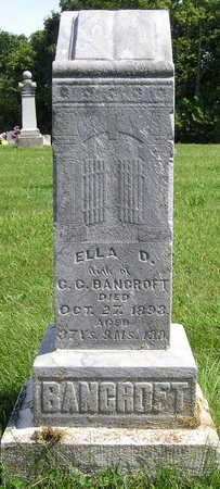 BANCROFT, MARY ELLEN (ELLA) - Madison County, Iowa | MARY ELLEN (ELLA) BANCROFT