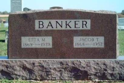 BANKER, JACOB T. - Madison County, Iowa | JACOB T. BANKER
