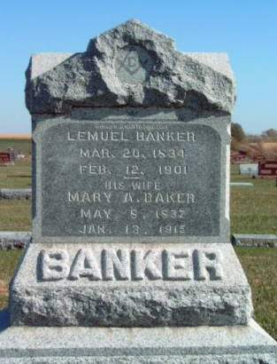BANKER, LEMUEL LEMON - Madison County, Iowa | LEMUEL LEMON BANKER