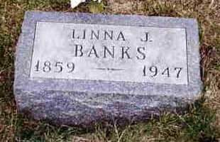 SMITH BANKS, MALINDA J. (LINNA) - Madison County, Iowa | MALINDA J. (LINNA) SMITH BANKS
