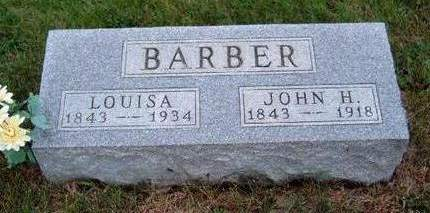 PHIPPS  BARBER, LOUISA - Madison County, Iowa | LOUISA PHIPPS  BARBER