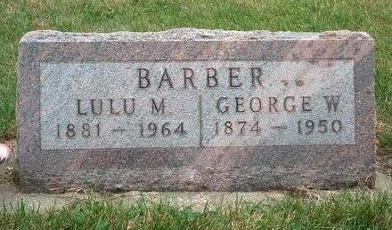BARBER, GEORGE W. - Madison County, Iowa | GEORGE W. BARBER