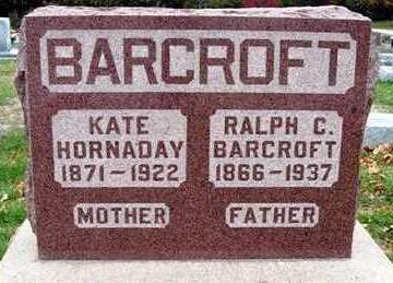 HORNADAY BARCROFT, KATE (KATHERINA) - Madison County, Iowa | KATE (KATHERINA) HORNADAY BARCROFT