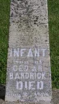 BARDRICK, INFANT - Madison County, Iowa | INFANT BARDRICK