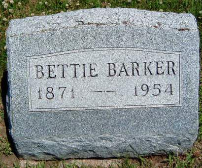 BARKER, ELIZABETH J. (BETTIE) - Madison County, Iowa | ELIZABETH J. (BETTIE) BARKER