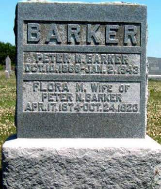 BARKER, FLORA MARTHA - Madison County, Iowa | FLORA MARTHA BARKER