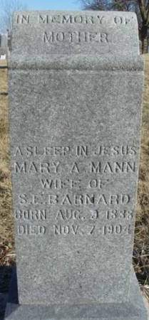 BARNARD, MARY ANGELINE - Madison County, Iowa | MARY ANGELINE BARNARD