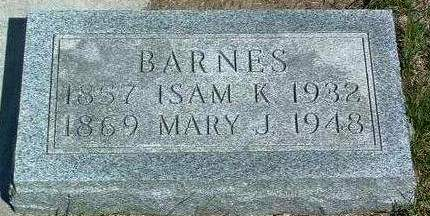 WILSON BARNES, MARY JANE - Madison County, Iowa | MARY JANE WILSON BARNES