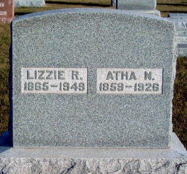 WILSON BARNETT, ELIZABETH RUTH (LIZZIE) - Madison County, Iowa | ELIZABETH RUTH (LIZZIE) WILSON BARNETT