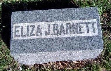 BARNETT, ELIZA JANE - Madison County, Iowa | ELIZA JANE BARNETT