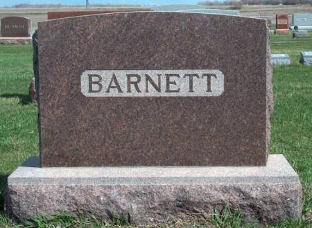 BARNETT, FAMILY STONE - Madison County, Iowa | FAMILY STONE BARNETT