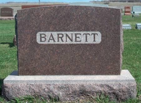 BARNETT, FAMILY STONE - Madison County, Iowa | FAMILY STONE BARNETT