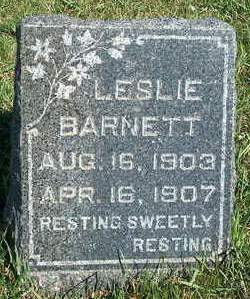 BARNETT, W. LESLIE - Madison County, Iowa | W. LESLIE BARNETT