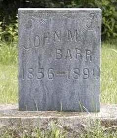BARR, JOHN M. - Madison County, Iowa | JOHN M. BARR