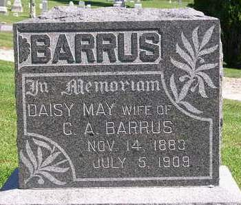 BARRUS, DAISY MAY - Madison County, Iowa | DAISY MAY BARRUS