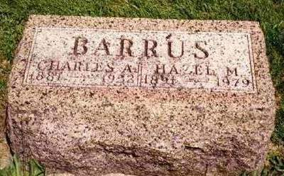 REES BARRUS, HAZEL MURIEL - Madison County, Iowa | HAZEL MURIEL REES BARRUS