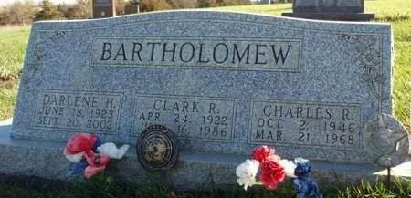 BARTHOLOMEW, DARLENE HAZEL - Madison County, Iowa | DARLENE HAZEL BARTHOLOMEW