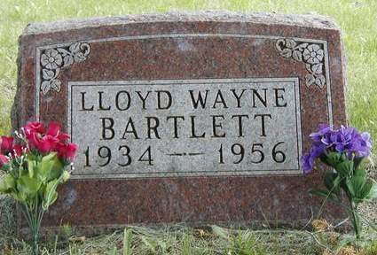 BARTLETT, LLOYD WAYNE - Madison County, Iowa | LLOYD WAYNE BARTLETT