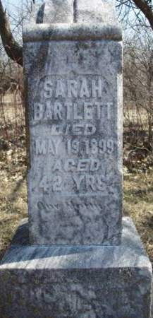 BARTLETT, SARAH D. - Madison County, Iowa | SARAH D. BARTLETT