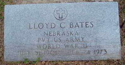 BATES, LLOYD C - Madison County, Iowa | LLOYD C BATES