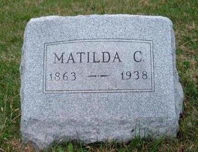 BAUER, MATILDA C. - Madison County, Iowa   MATILDA C. BAUER