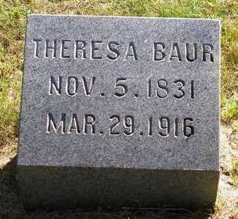 BAUR, THERESA - Madison County, Iowa | THERESA BAUR