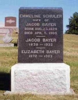 BAYER, EMMALINE - Madison County, Iowa | EMMALINE BAYER