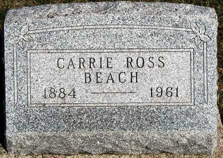 ROSS BEACH, CARRIE V. - Madison County, Iowa | CARRIE V. ROSS BEACH