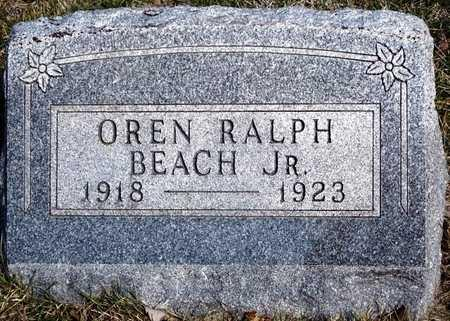 BEACH, OREN RALPH, JR. - Madison County, Iowa | OREN RALPH, JR. BEACH