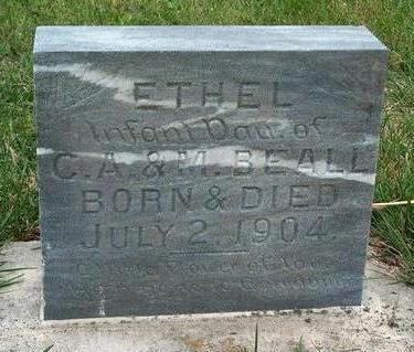 BEALL, ETHEL - Madison County, Iowa | ETHEL BEALL