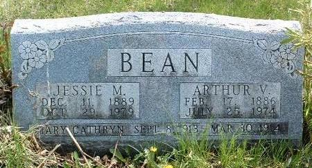 SNIDER BEAN, JESSIE MARGIE - Madison County, Iowa | JESSIE MARGIE SNIDER BEAN