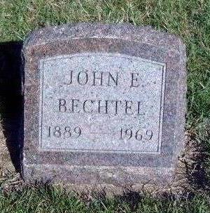 BECHTEL, JOHN ELLSWORTH - Madison County, Iowa | JOHN ELLSWORTH BECHTEL