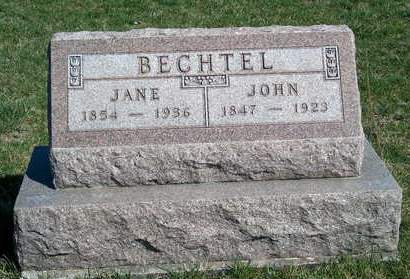 BECHTEL, JOHN - Madison County, Iowa | JOHN BECHTEL